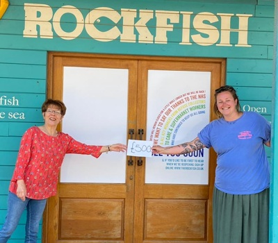 a generous donation from Rockfish!